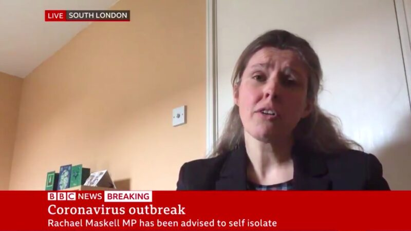 Coronavirus: UK health minister tests positive