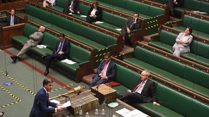 MPs express anger during Internal Market Bill debate