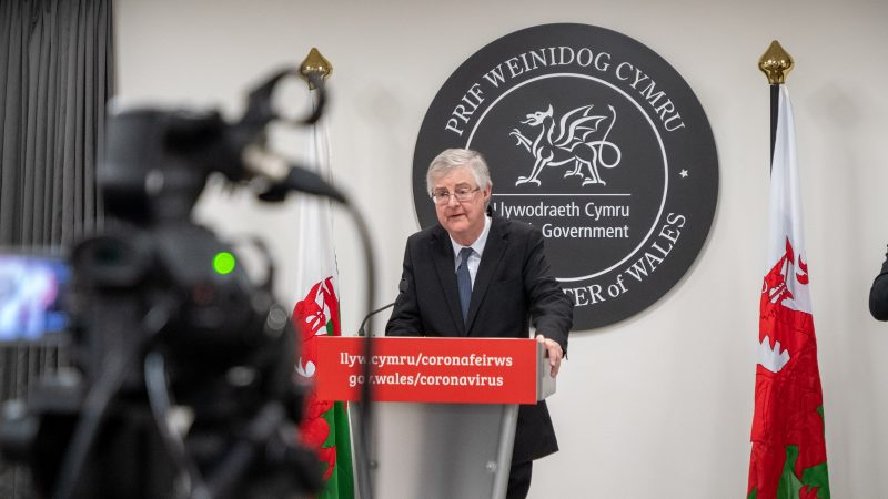 The Welsh government fears that people from England will