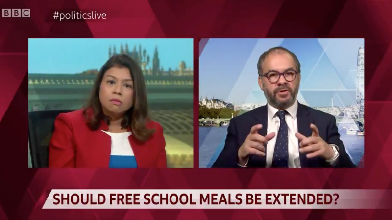 Area's MPs vote against free school meals for children